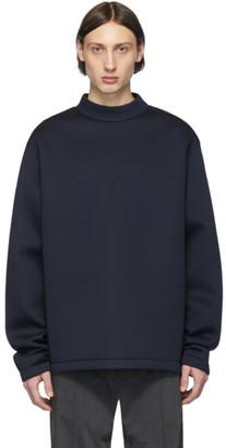 Maison Margiela Navy Scuba Sweatshirt