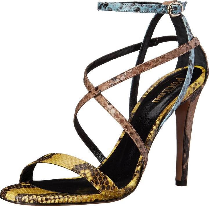 Studio Pollini Women's Multi Color Sandal
