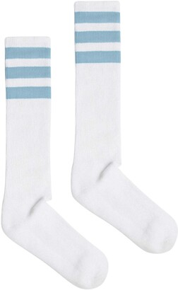American Apparel Unisex Stripe Calf-High Sock