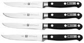 Zwilling J.A. Henckels TWIN® Pro 'S' 4 Piece Steak Knife Set