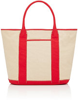 Barneys New York WOMEN'S MARY LARGE TOTE BAG-RED