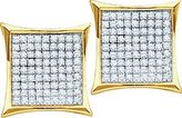 0.40ctw Diamond Micro-Pave Stud Earrings