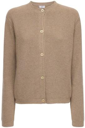 AG Jeans Cashmere Rib Knit Cardigan