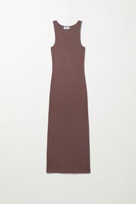 Weekday Stella Tank Dress - Black