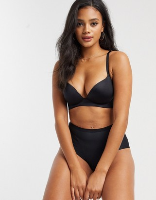Dorina Arielle Push Up Demi Bra In Black
