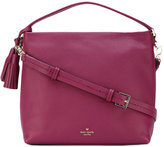 Kate Spade tassel detail tote - women - Leather/Polyester - One Size