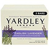 Yardley London Bar Soap, English Lavender, 2 Count