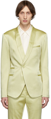 Haider Ackermann Yellow Evening Blazer