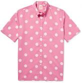 Levi's 1960's Button-Down Collar Polka-Dot Cotton-Poplin Shirt