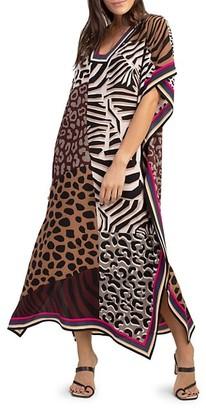 Trina Turk Theodora Printed Midi Dress