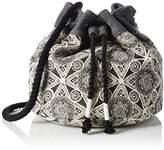 Volcom Cant Be Tamed Bucket Handtasche, Women's Handbag, Schwarz (), 5x23x36 cm (B x H T)