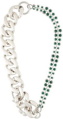 No.21 Crystal-Embellished Necklace