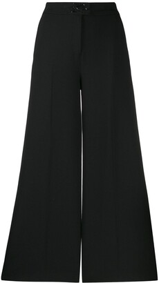 Karl Lagerfeld Paris Signature Wide Leg Trousers