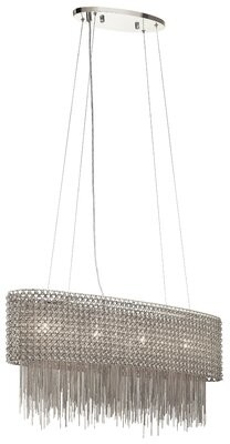 Orren Ellis Samime 4 - Light Kitchen Island Drum Pendant