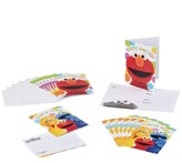 Sesame Street Elmo Invite and Than You Kit 8 Count
