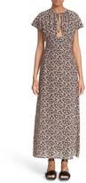 Tomas Maier Women's Aster Print Silk Maxi Dress