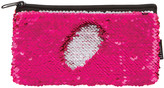 Fashion Angels Coin Purses - Pink & Silver Magic Sequin Pencil Pouch