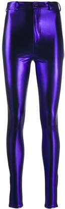 ATTICO metallic slim trousers