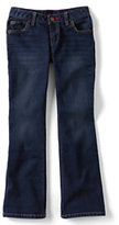Classic Girls Plus 5-pocket Denim Boot Cut Jeans-Authentic Light Wash