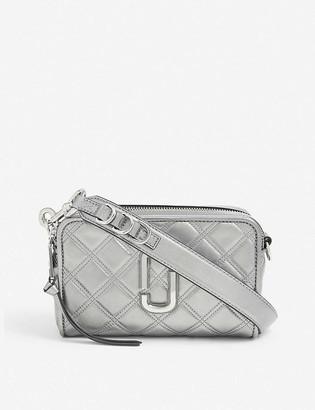 Marc Jacobs Softshot 21 metallic leather shoulder bag