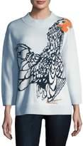 Temperley London Women's Bird Crewneck Sweater