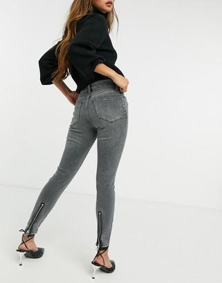 AllSaints Miller skinny jean in vintage black