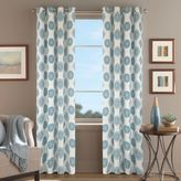 Orion Morocco 95-Inch Grommet Top Window Curtain Panel in Aqua
