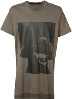 Julius text print T-shirt - men - Cotton/Modal - 2