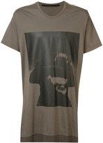 Julius text print T-shirt - men - Cotton/Modal - 3