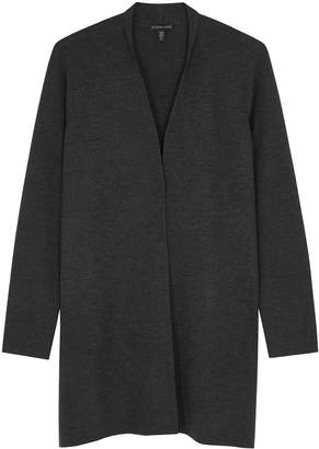 Eileen Fisher Dark Grey Merino Wool Cardigan