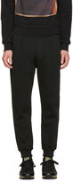 DSQUARED2 Black High Casual Lounge Pants