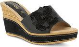 Azura Women's Montanara Slide Wedge Sandal