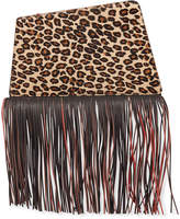 THE VOLON Dia Fringed Clutch Bag