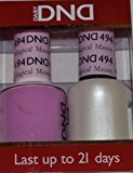 DND Gel & Matching Polish Set #494 - Magical Mauve. Buy 5 any colors get 1 Diamond super fast drying top coat 0.5 oz Free by DND Gel