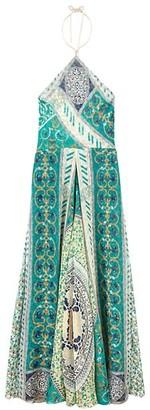 Etro Palais Jamais Silk Halter Dress