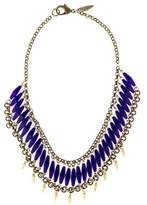 Fallon Bead Spike Collar Necklace