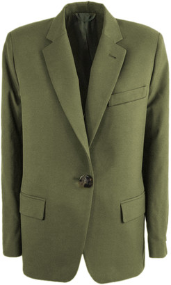 ATTICO Military Green Blazer Jacket