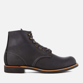 Red Wing Shoes Men's Blacksmith 6 Inch Leather Lace Up Boots - Black