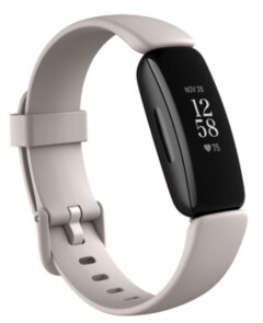 Fitbit Inspire 2 Lunar White Strap Smart Watch 19.5mm