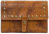 Patricia Nash Signature Map Collection Colli Studded Wallet