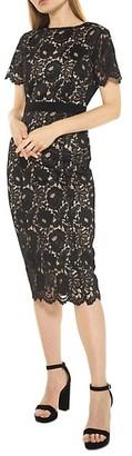 Alexia Admor Delora Lace Sheath Dress