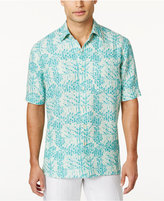 Tasso Elba Men's Silk Linen Pattern Shirt, Only at Macy's