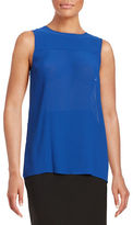 MICHAEL Michael Kors Pleated Tank