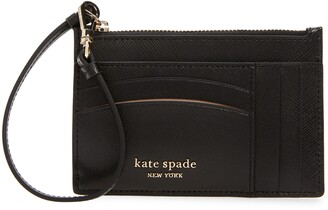 Kate Spade Spencer Leather Wristlet Card Case