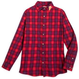 Disney Ian Flannel Shirt for Adults by Cakeworthy Onward