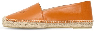 Stella McCartney 10mm Faux Leather Espadrilles