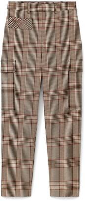 Classic Plaid Cargo Pants