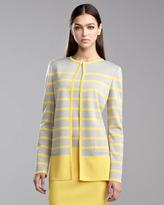 St. John Milano Knit Topper Jacket