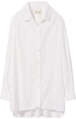 Nili Lotan White Yorke Shirt