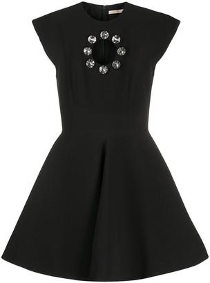 Christopher Kane Crystal Bell Mini Dress